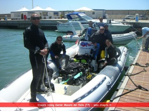 Diving PADI courses in the province of Trapani. Diving in Mazara del Vallo. Diving Trapani.