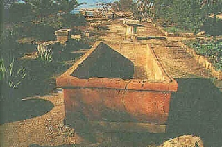 An open Tomb of Necropolis of Selinunte